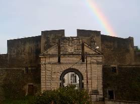 Arco-íris em Olivença