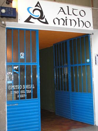 Porta do Centro Social