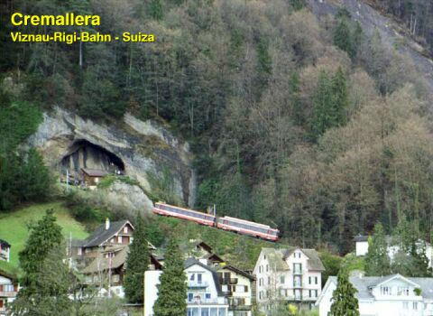 Cremalheira Viznau-Rigi-Bahn, na Suíça