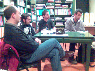 Xerardo Méndez, Afonso Rodriguez, Carlos Figueiras, Manoel Fontemoura