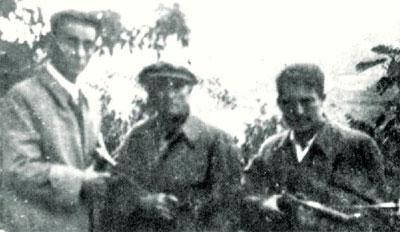 Neiras, Guarda-Rios e Trancas, guerrilheiros