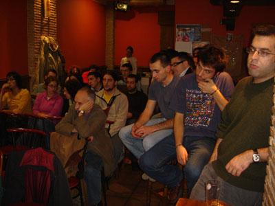 Assistentes à conferência de Francisco Martínez «Quico»