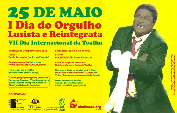 25 de Maio - I Dia do Orgulho Lusista e Reintegrata